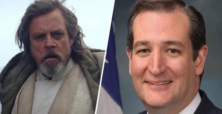 Ted Cruz Squares Off With Luke Skywalker. Over Net Neutrality?