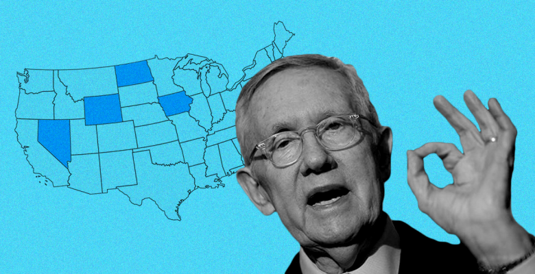 "Harry Reid: It's Time to End All Caucuses and ""Move to Primaries Everywhere"""