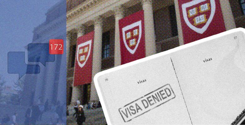 Harvard Student Has Visa Revoked Over Friends' Social Media Posts Criticizing the US