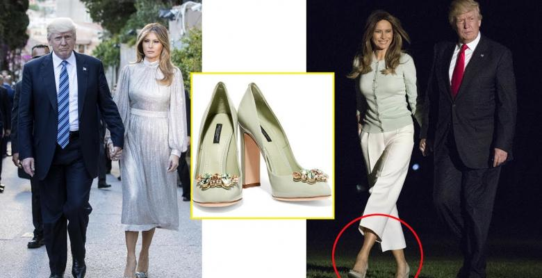 Media Attack Melania's Heels Because They Can't Think Of A Story