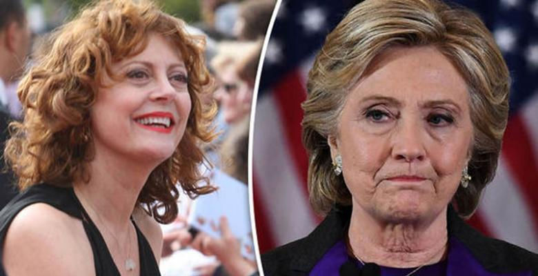 Susan Sarandon Smeared By Media For Saying Clinton Was Also Bad