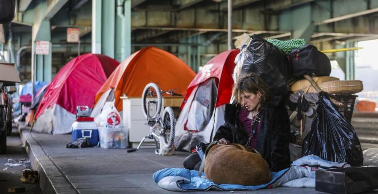 As West Coast Wealth Booms, So Does Homeless Crisis