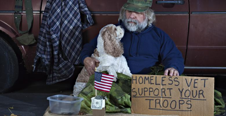 After Touting Success, VA Nearly Cuts Funds For Homeless Vets