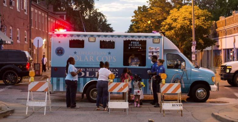 Ice Cream to Improve Cop-Community Relations?