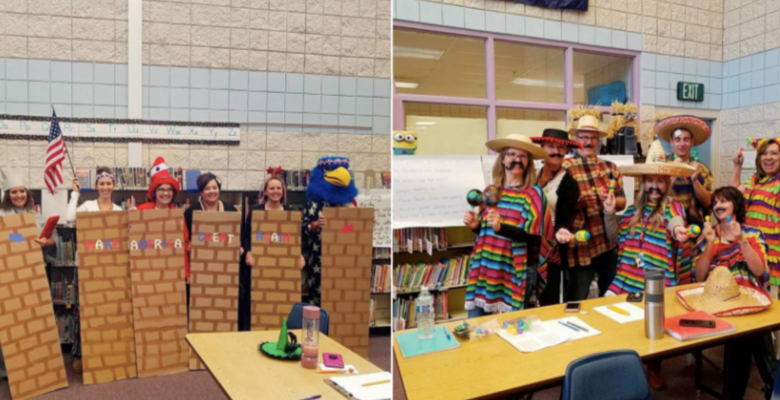 14 Idaho Elementary Teacher and School Staff Suspended for Dressing as Mexicans and Border Wall