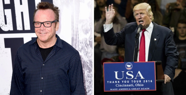 Tom Arnold Claims He Has A Tape Of Trump Saying Horrible Things