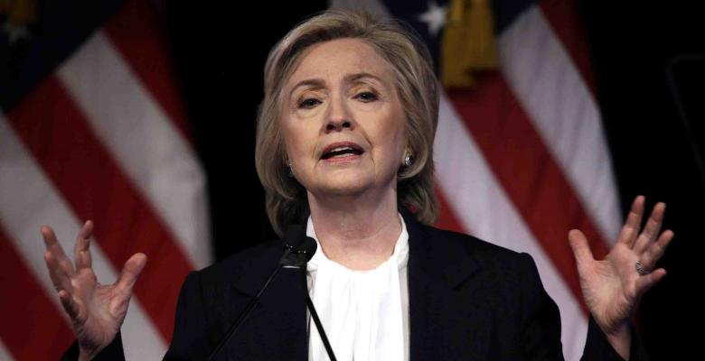 Irony Alert: Clinton Says 'GOP Is Imploding'