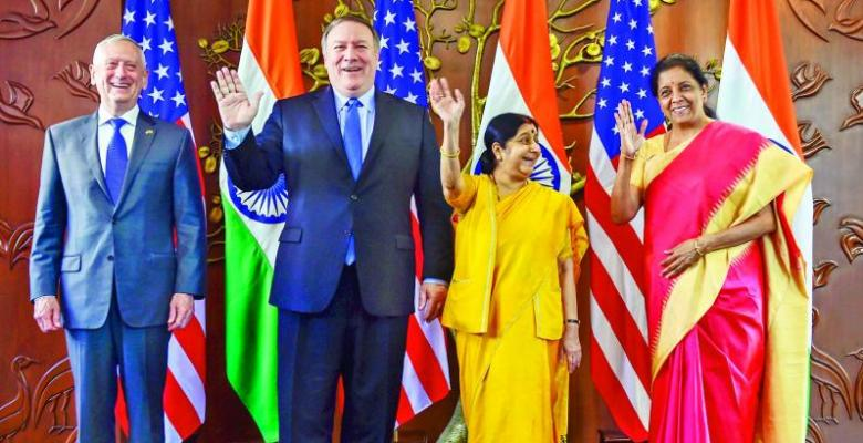 India And US Meet TO Discuss Drones, Countering China
