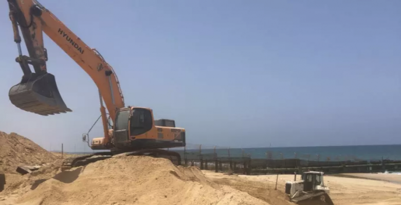 Israel Is Building A Marine Barrier Between Itself And Gaza