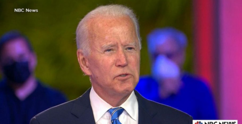 "Joe Biden Says He'll Make Roe v. Wade ""The Law of the Land"" if Supreme Court Overturns It"