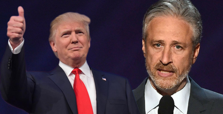 "Jon Stewart Urges Democrats to ""Beat"" Trump With Ideas-- There's Just One Problem"
