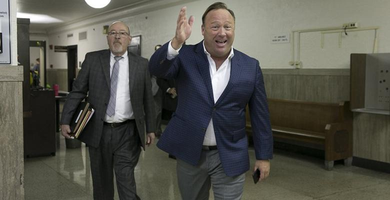 Alex Jones' Custody Trial Is The Most Surreal Thing Ever