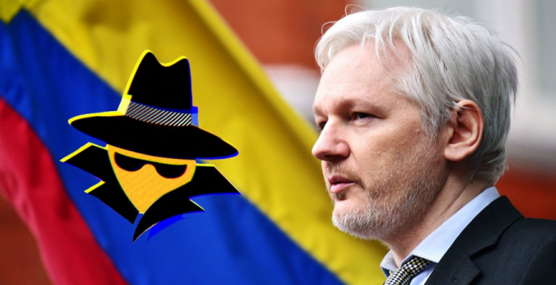 Ecuador's $5 Million Surveillance Program Used To Spy On Julian Assange
