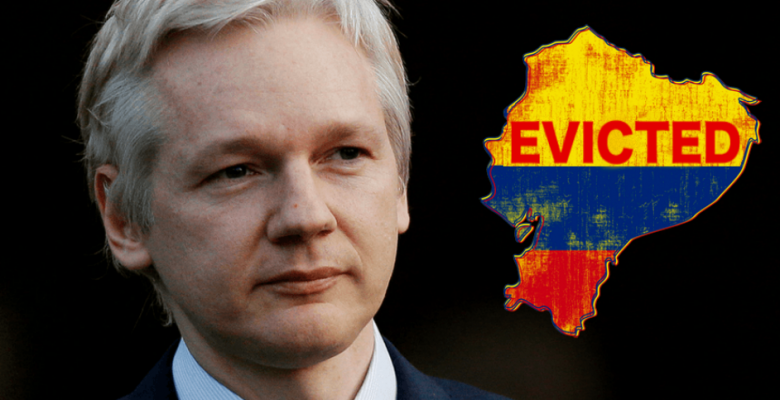 Report: Ecuador Plans To 'Imminently Withdraw' Asylum From Julian Assange