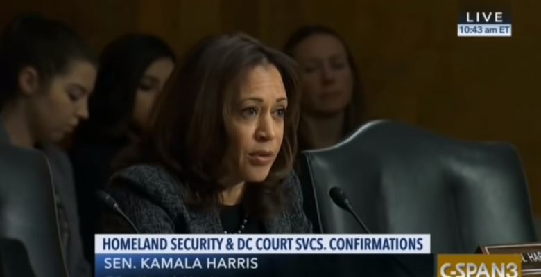 Kamala Harris Compares ICE to The KKK During Senate Hearing