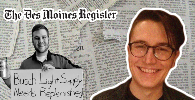 Former Des Moines Register Reporter Aaron Calvin Should Not Have Lost His Job