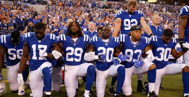 Kneeling For The Anthem Is Not Disrespecting The Flag