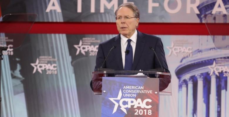 LaPierre's Complete NRA Nonsense On Gun Control