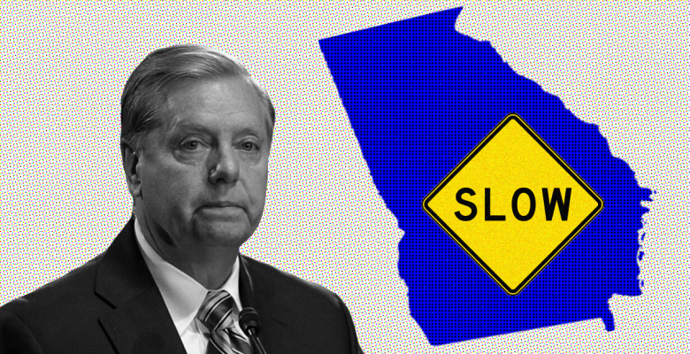 """Lindsey Graham, Whose Own State is Reopening, Warns Georgia is Going """"Too Fast Too Soon"""""""