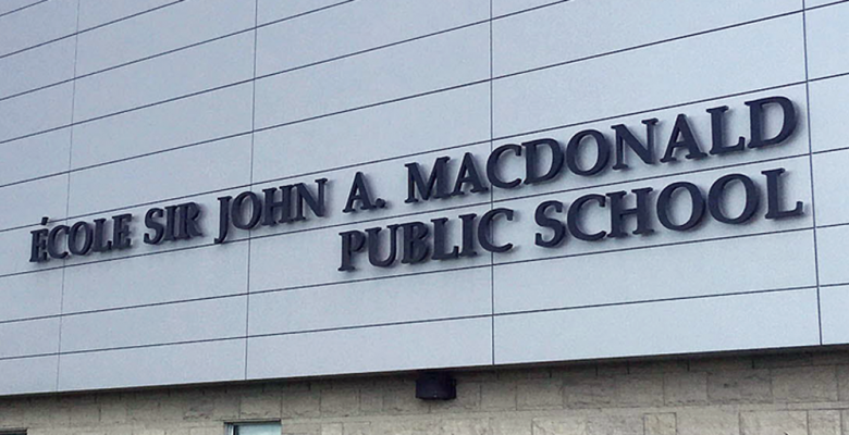 Teachers Bid To Remove John A. Macdonald's Name From Schools