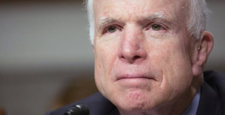 Stop Celebrating John McCain's Cancer Diagnosis