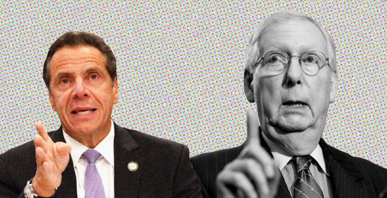 Cuomo Rips McConnell for Urging State Bankruptcy: Kentucky Takes More Federal Money Than NY