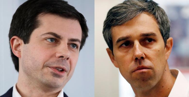 O'Rourke and Buttigieg Surge in Polls of Democratic Hopefuls