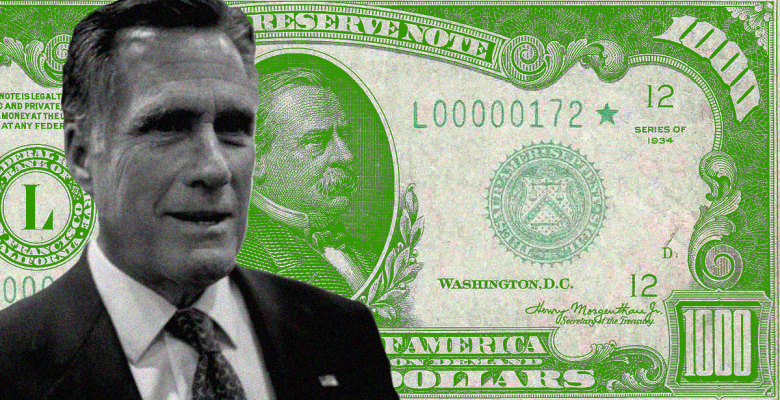 Mitt Romney Wants to Give Every American Adult $1,000 in Response to Coronavirus