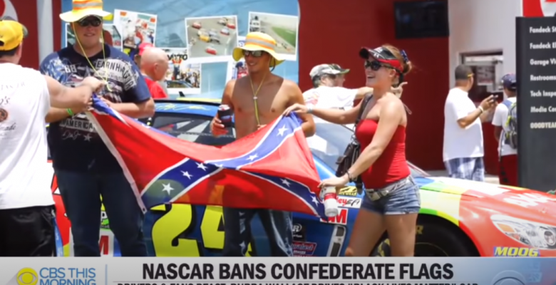 NASCAR Driver Quits After It Banned Confederate Flag at All Events