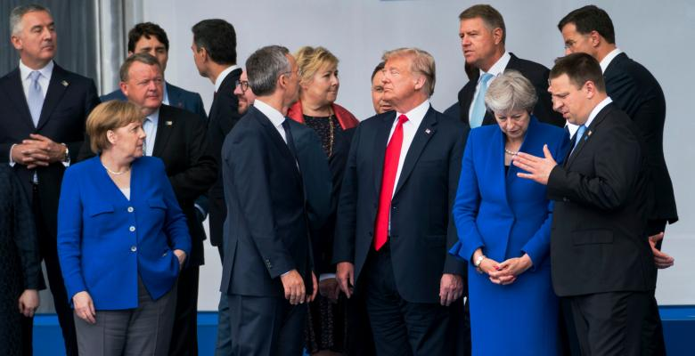 NATO Summit Another Chance For Trump To Air Grievances With Allies