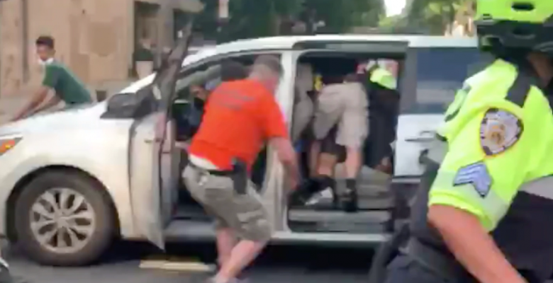 "Video Shows NYPD Grab Protester Into Unmarked Van. Cops Say They've Been Doing It For ""Decades"""