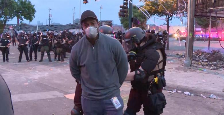 Minnesota Police Arrest CNN Reporter Omar Jimenez and Crew on Live TV