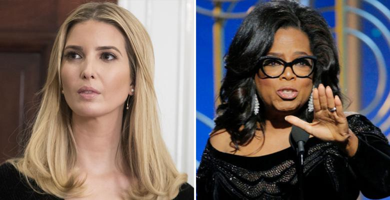 Ivanka Gets Flack For Liking Oprah's Sexual Assault Speech