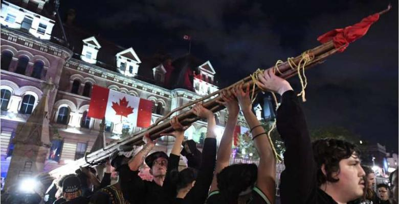 Historic Canada 150 Marred by Indigenous Protests