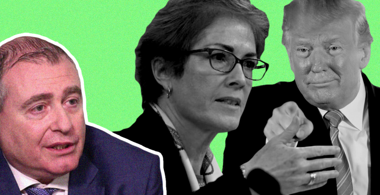 Lev Parnas Claims Trump Tried to Fire Marie Yovanovitch Multiple Times