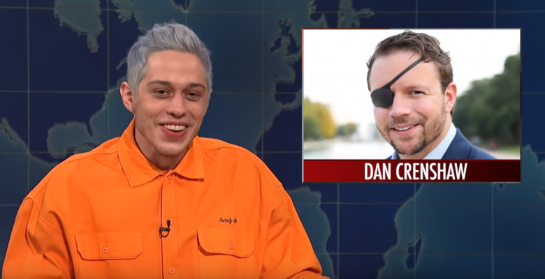 SNL's Pete Davidson Jokes About GOP Candidate Who Lost Eye as Navy SEAL in Afghanistan