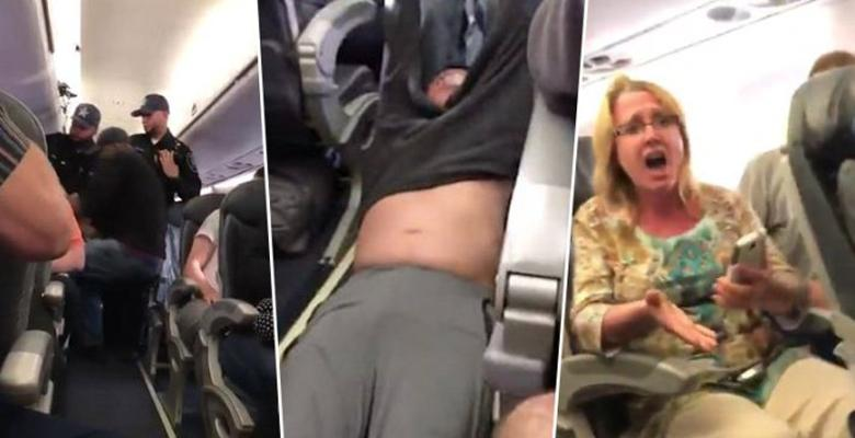 United Bloodies Passenger On Overbooked Flight