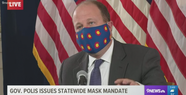 Colorado Governor Says Business Owners Can Report People Not Wearing Masks to Police
