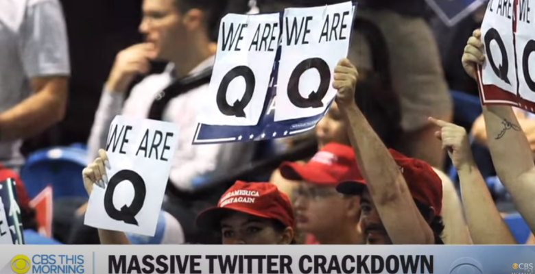 Twitter Shuts Down 7,000 QAnon-Linked Accounts, Limits 150,000 Others