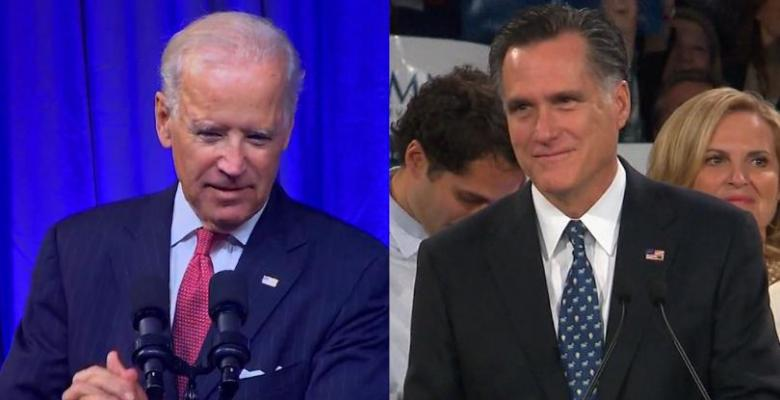 Joe Biden Wants Mitt Romney To Run For The Senate