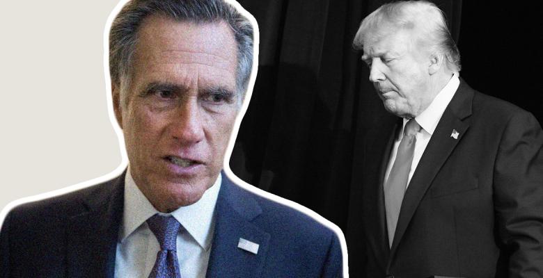 Adviser Says Mitt Romney Will Rally Republicans to Remove Trump in Impeachment Vote