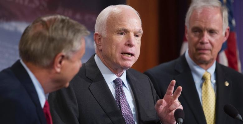 Sen. Ron Johnson: McCain Tumor Caused Healthcare 'No' Vote
