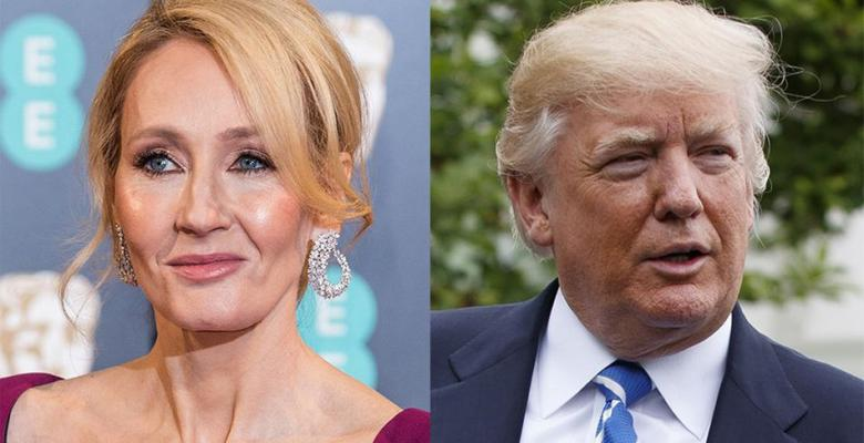 JK Rowling Lies About Trump Video To Get Attention