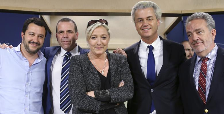 Le Pen Charged For ISIS Photos, EU Political Indictments Continue