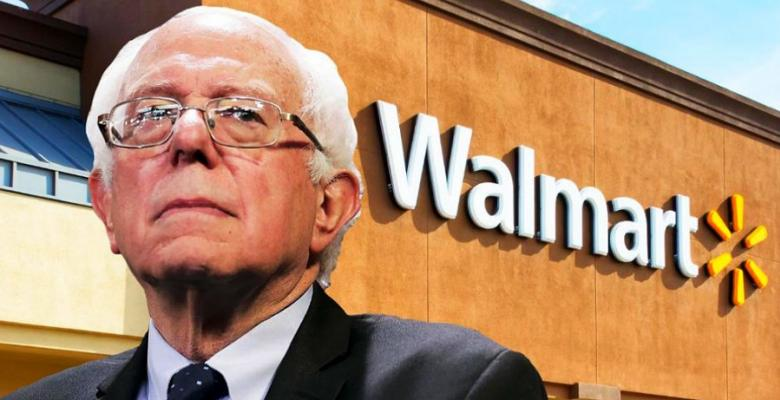 Bernie Sanders Introduces Bill Forcing Walmart To Raise Their Stagnant Wages