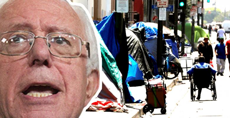 Sanders Homelessness