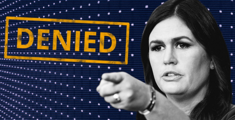 Sarah Sanders Was Denied Service For The Content Of Her Character