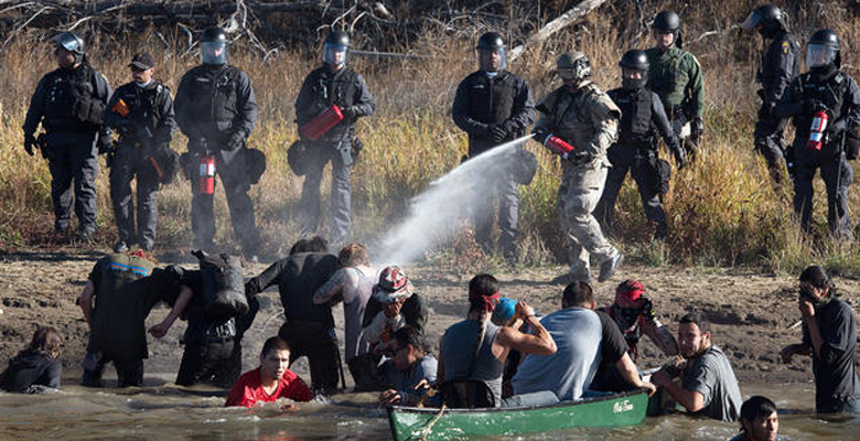 Standing Rock Protests: Police Need To Be Stopped