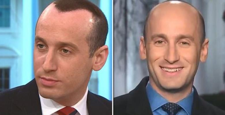 Stephen Miller Sports Fake Hair For CBS Interview, Ditches It For CNN Interview