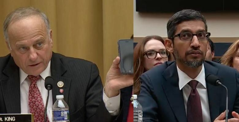 Lawmakers Ask About iPhone, Why Trump Comes Up When You Search 'Idiot' at Google CEO Hearing